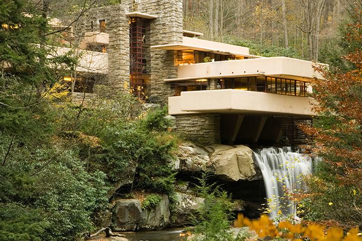 Fallingwater (Kaufmann Evi), Pennsylvania, ABD