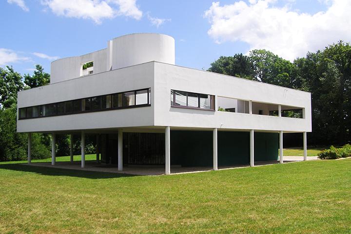 Villa Savoye, Poissy, Fransa