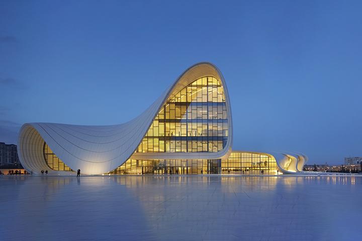 Haydar Aliyev Kültür Merkezi, Bakü, Azerbaycan