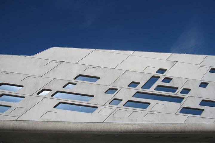 Phaeno Bilim Merkezi, Wolfsburg, Almanya